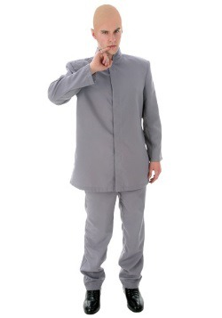 Plus Size Grey Suit