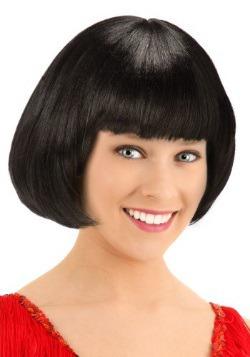 Black Flapper Wig