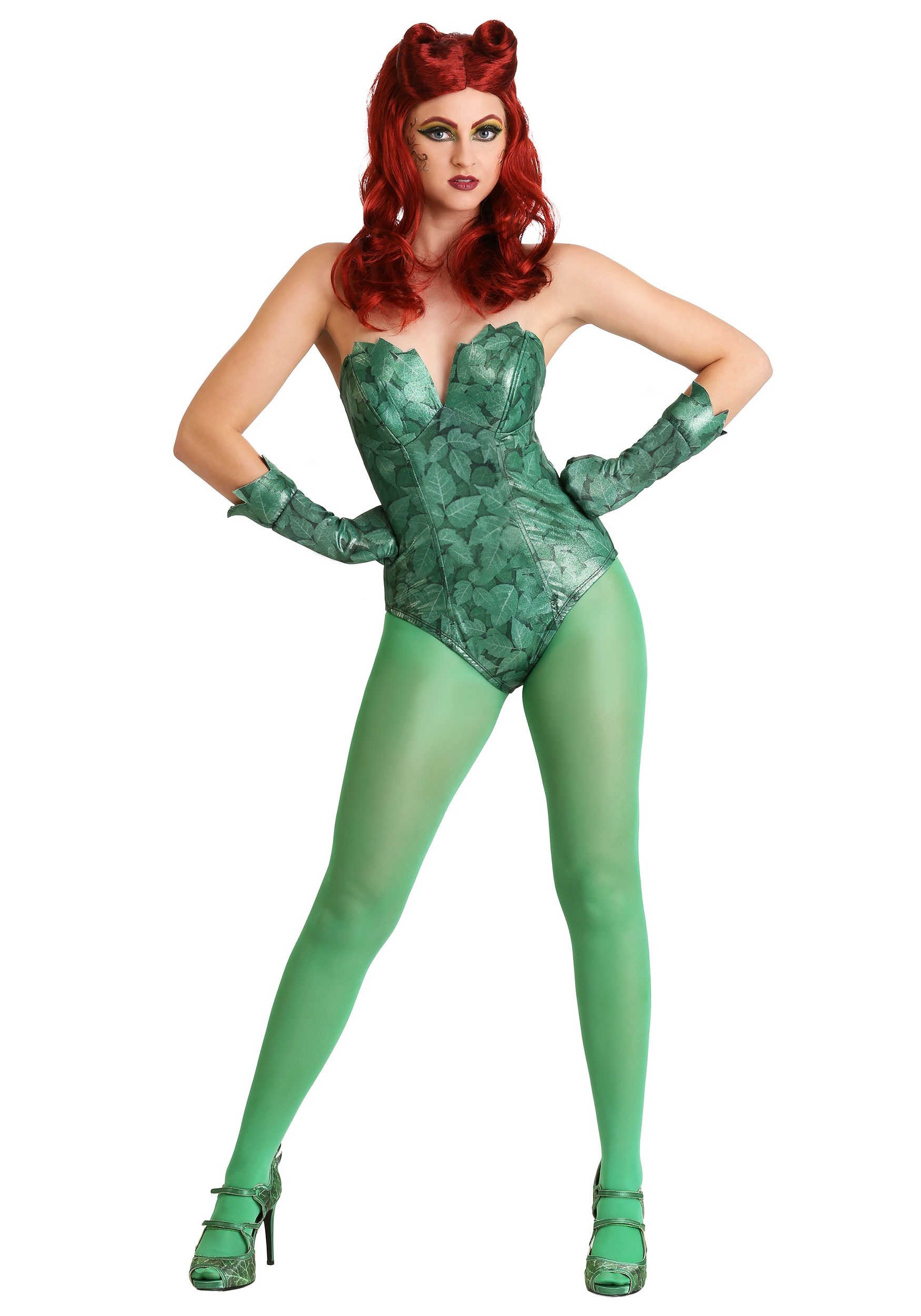 Dc Comics Poison Ivy Costume For Women-3499