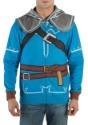 Mens Breath of the Wild Zelda Suit Up Costume Hood