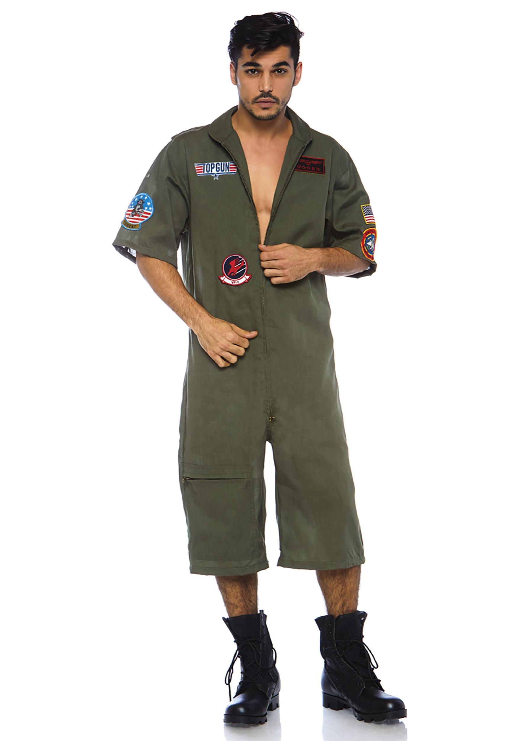 Top Gun Aviator Mens Costume - Men Costume  Top Gun Mens Outfit