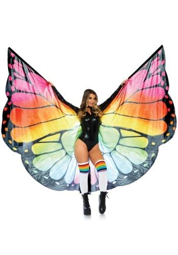 Rainbow Butterfly Wings