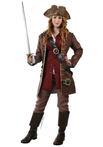 Womens Authentic Caribbean Pirate Costume update1