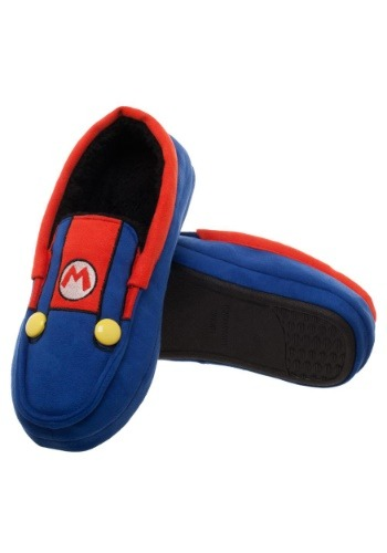 Adult Super Mario Suit-Up Moccasin