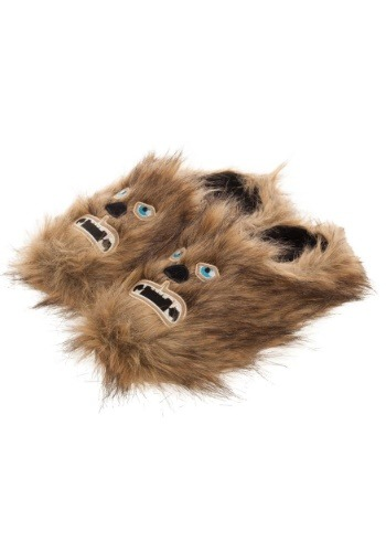 Adult Star Wars Chewbacca Scuff Slippers