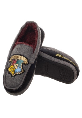 Adult Harry Potter Hogwarts Crest Moccasins