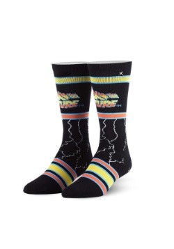 Odd Sox Back to the Future Adult Knit Socks