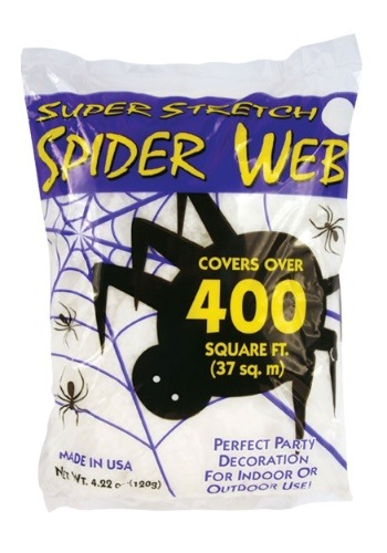 400 Square Feet Spider Web