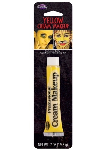 Professional Cream Makeup - Yellow