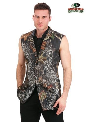Sleeveless Tuxedo Jacket Mossy Oak
