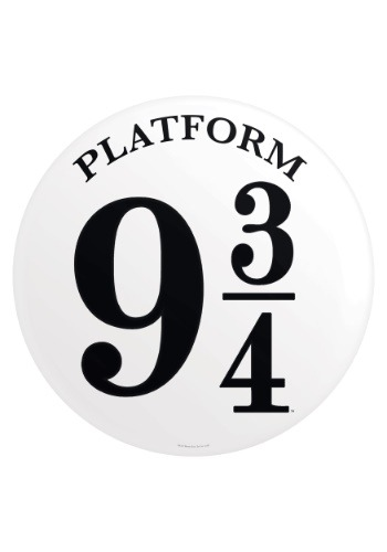 Harry Potter Platform 9 3/4 Tin Sign