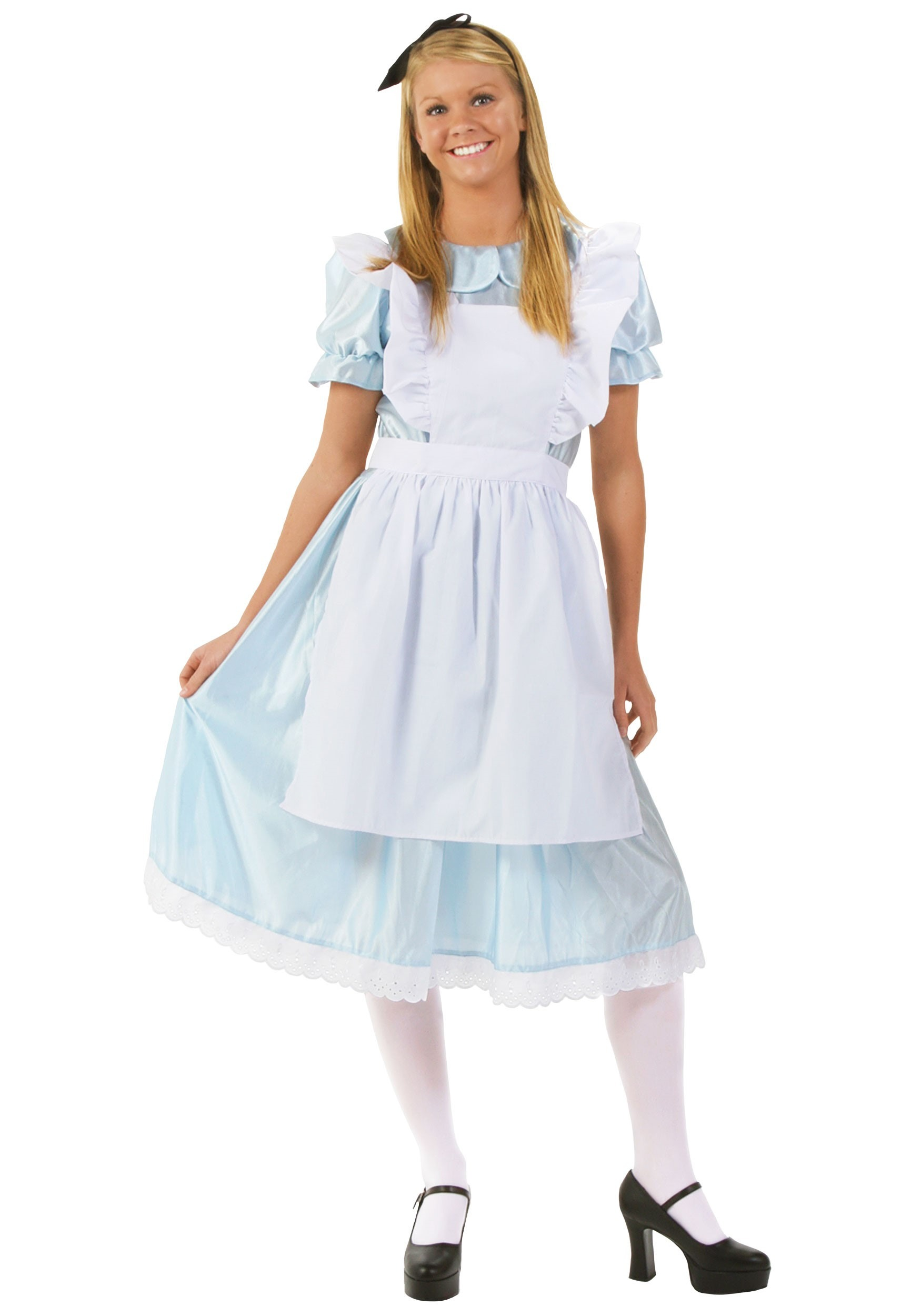 Adult Alice Fancy Dress Costume