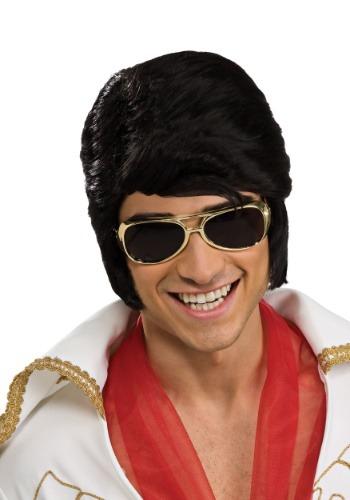 Adult Elvis Gold Sunglasses