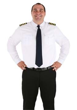 Adult Plus Size Pilot Costume Shirt