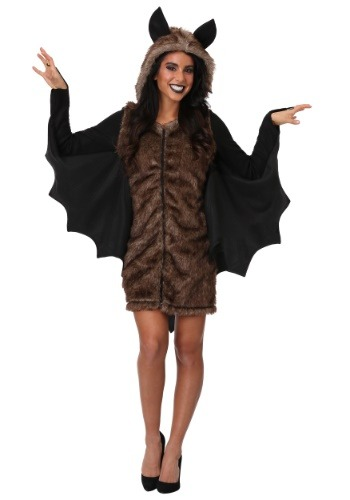 Women's Plus Size Deluxe Bat Costume