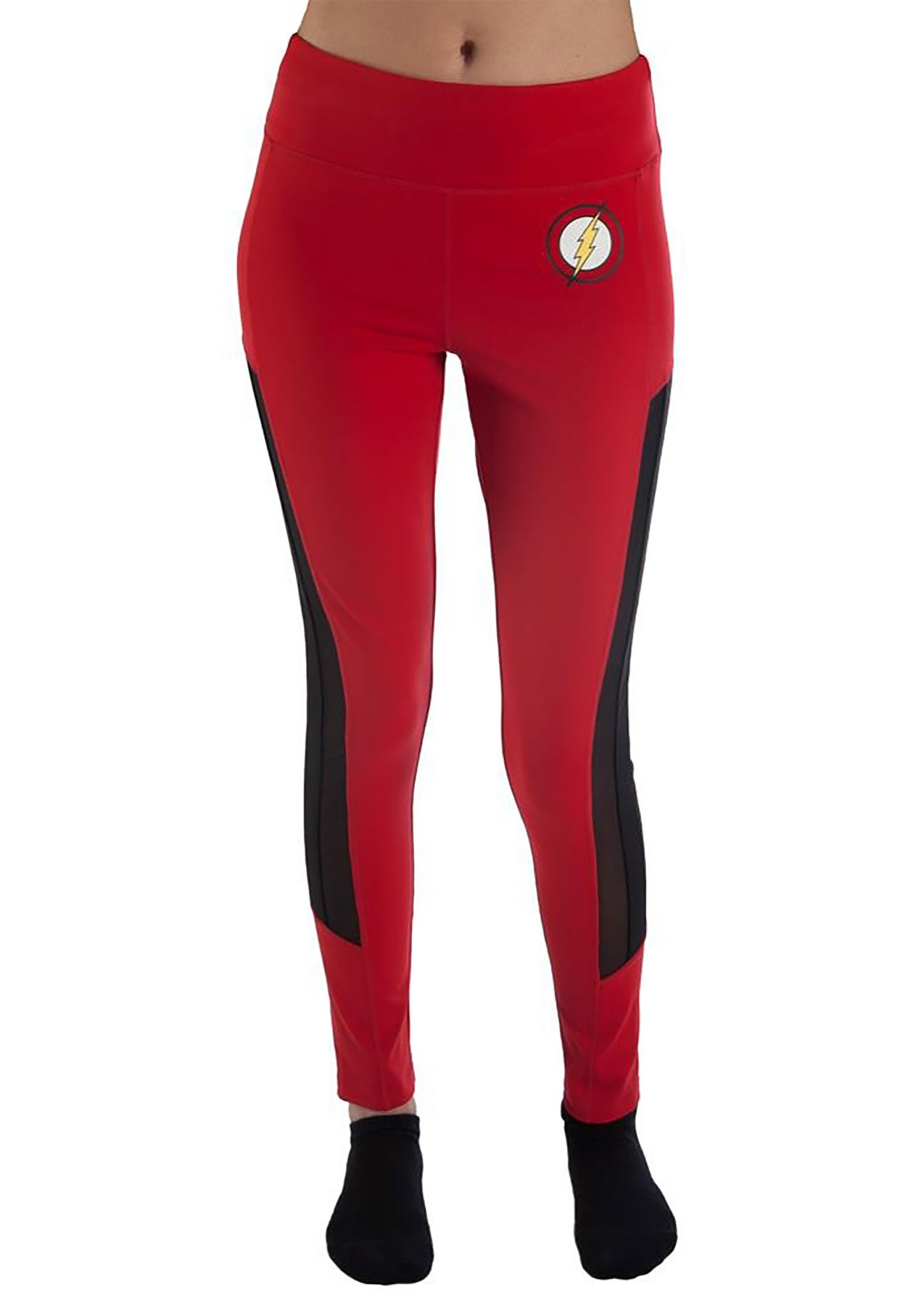 DC_Comics_Flash_Women's_Active_Leggings