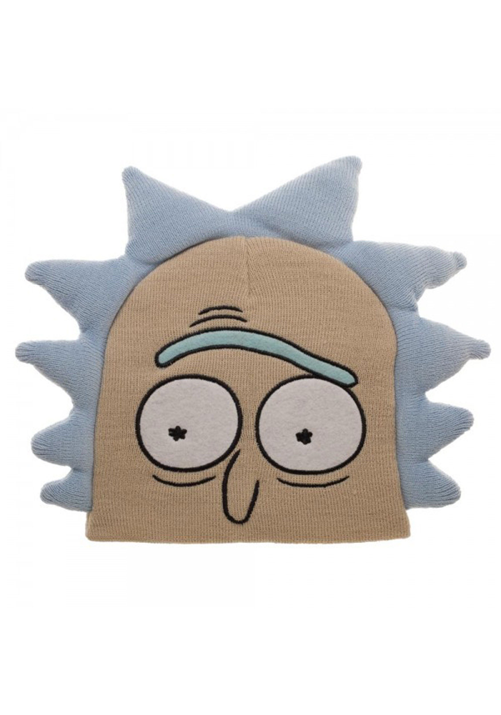0c9676fd586e28 The Rick and Morty Rick Big Face Beanie