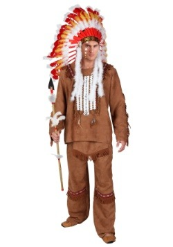 Deluxe Men's Native American Costume