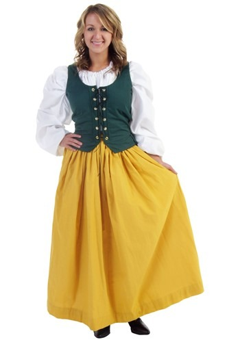 Gold Peasant Skirt
