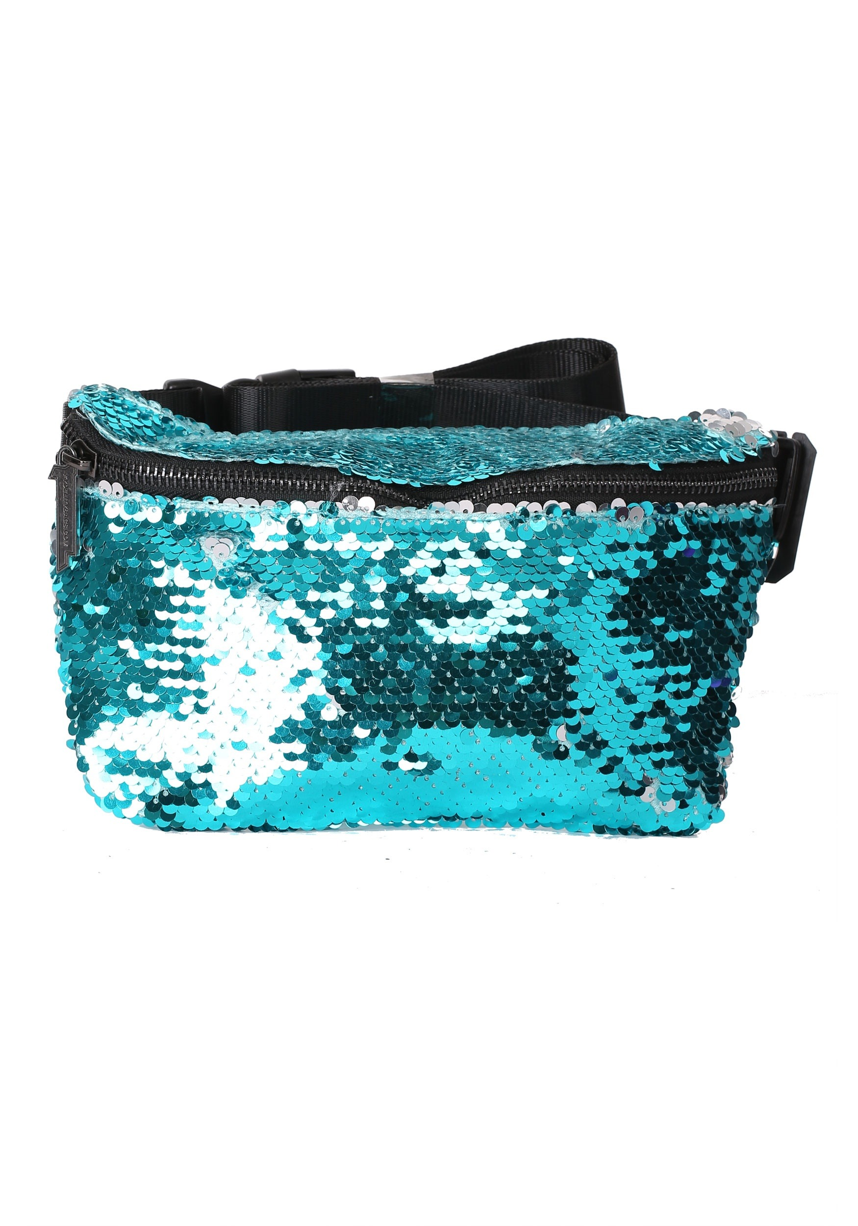 Flapper Teal/Silver Bum Bag Fydelity