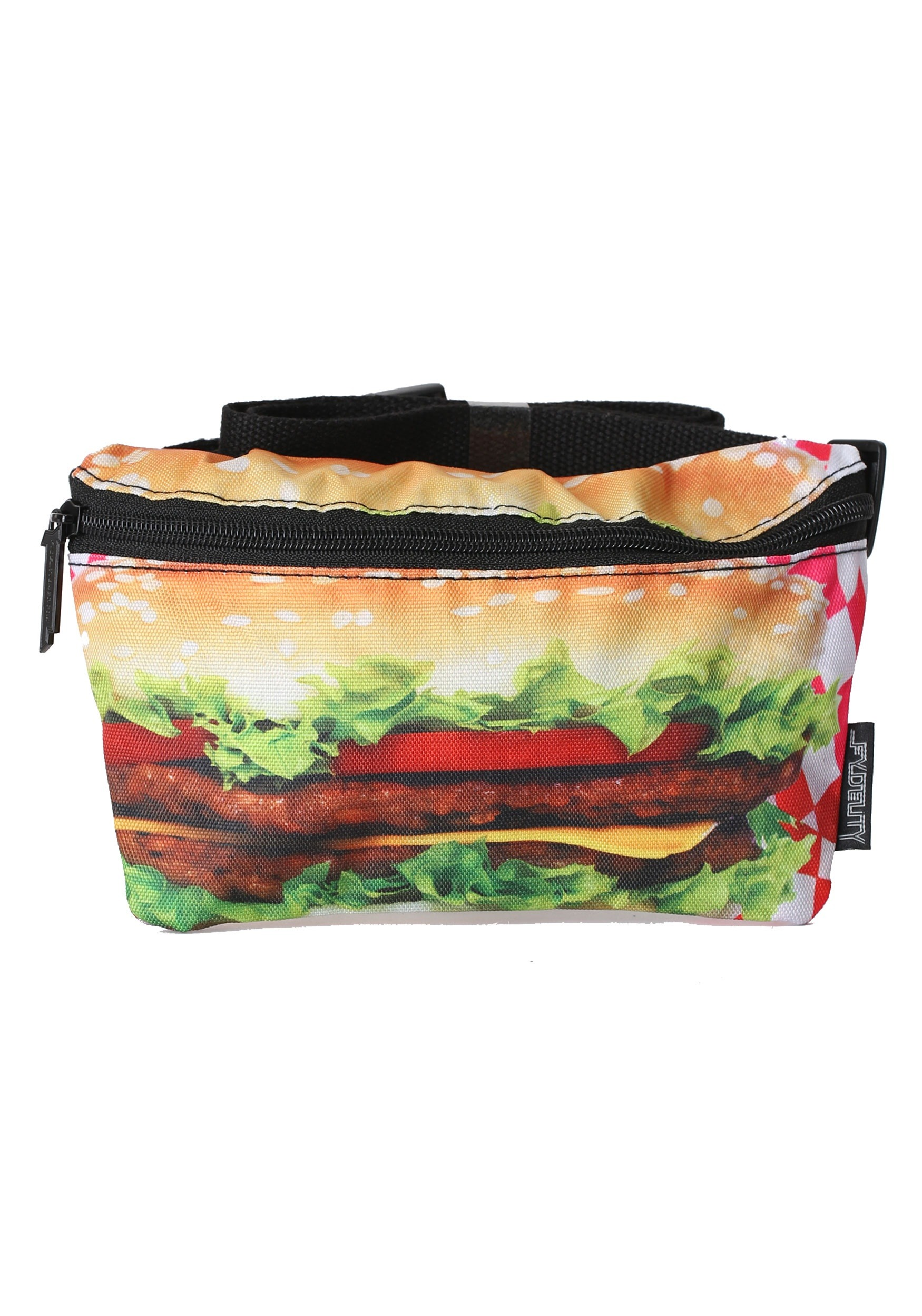 Bum Bag with Hamburger Print Fydelity