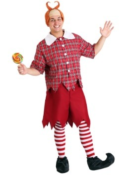Adult Red Munchkin Costume