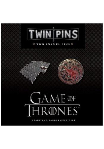 Game of Thrones Stark & Targaryen Twin Enamel Pin