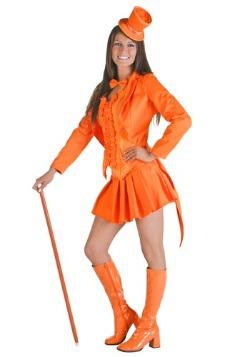 Sexy Orange Tuxedo Costume