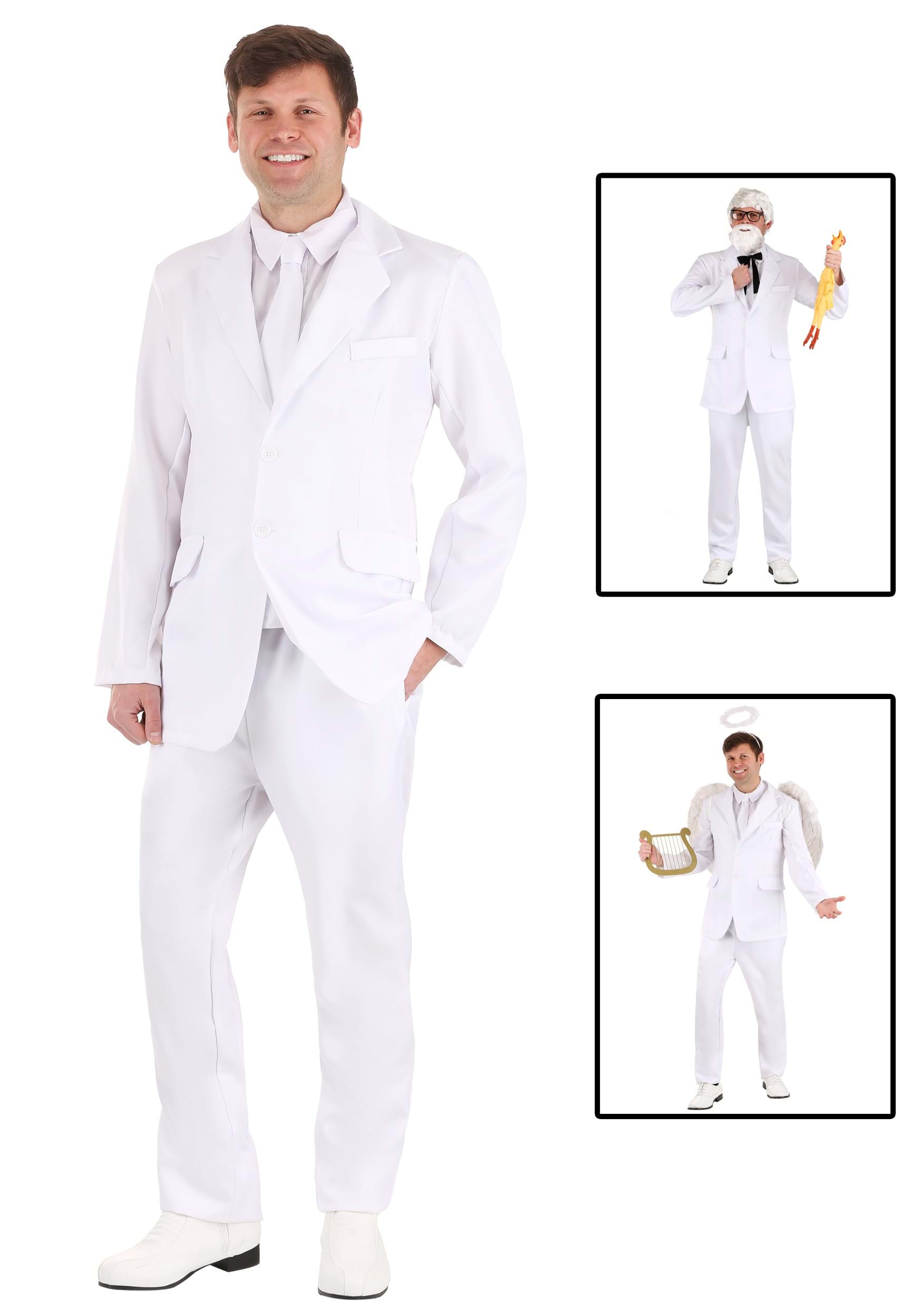 Mens White Suit Costume  sc 1 st  Halloween Costumes UK & 80u0027s Costumes - Kids and Adults 80s Costumes