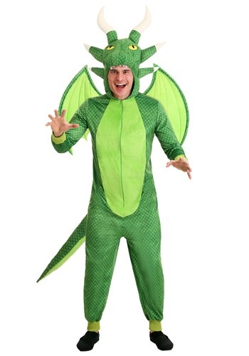 Men's Untamed Dragon Onesie