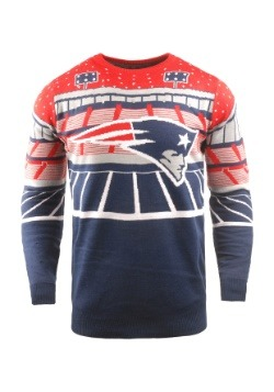 New England Patriots Light Up Ugly Christmas Sweater1