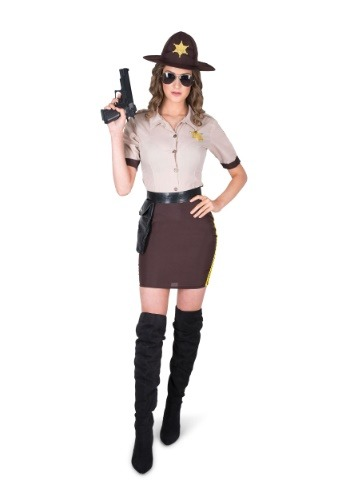 Women's Sultry Sheriff Costume
