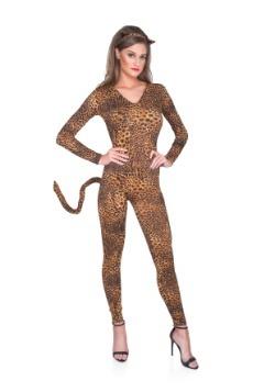 Women's Wild Leopard Bodysuit