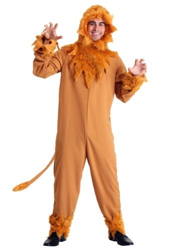 Cowardly Lion Mens Costume Update