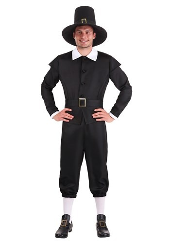 Plus Size Mens First Pilgrim Costume