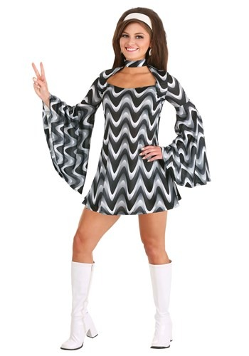 Women's Silver Queen Disco Costume