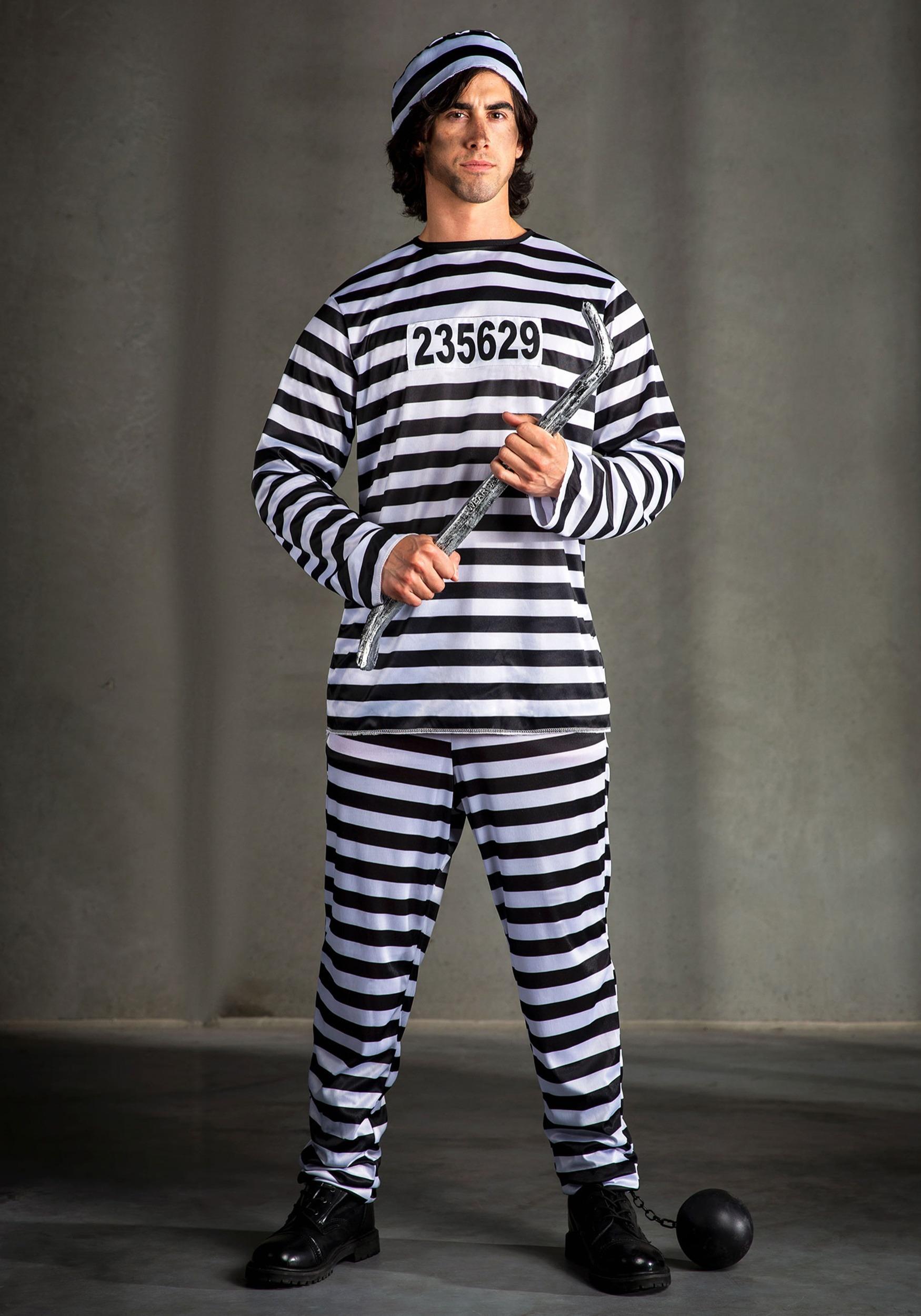 Mens Prisoner Costume  sc 1 st  Halloween Costumes UK & Prisoner Costumes - Sexy Prisoner Halloween Costumes
