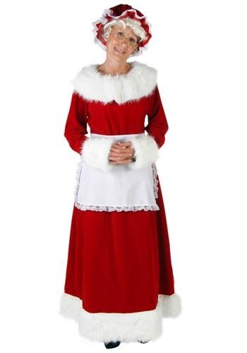 Plus Size Mrs Claus Costume