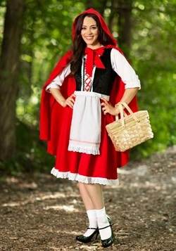 Plus Size Little Red Riding Hood Costume update1