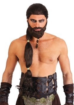 Men's Warrior King Wig and Beard