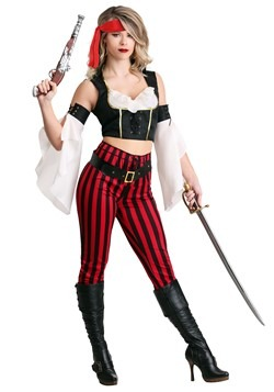 Womens Salty Sea Pirate Costume