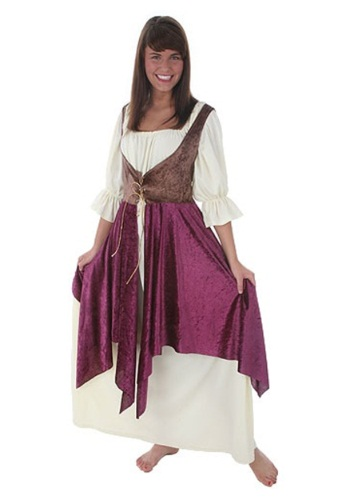 Plus Size Tavern Lady Costume