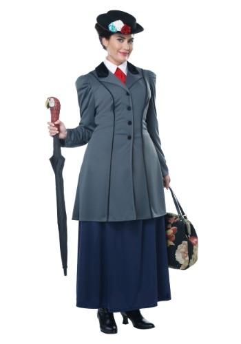 Women's Plus Size Nanny Costume