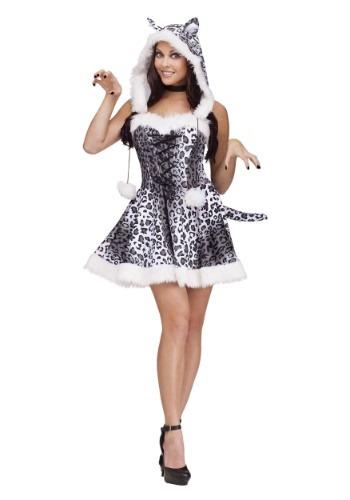 Women's Snow Leopard Costume