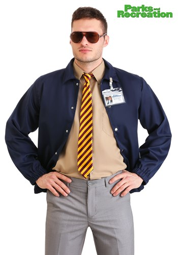 Plus Size Parks and Recreation Burt Macklin Costume