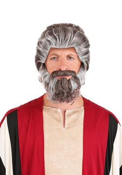 Biblical Moses Wig and Beard
