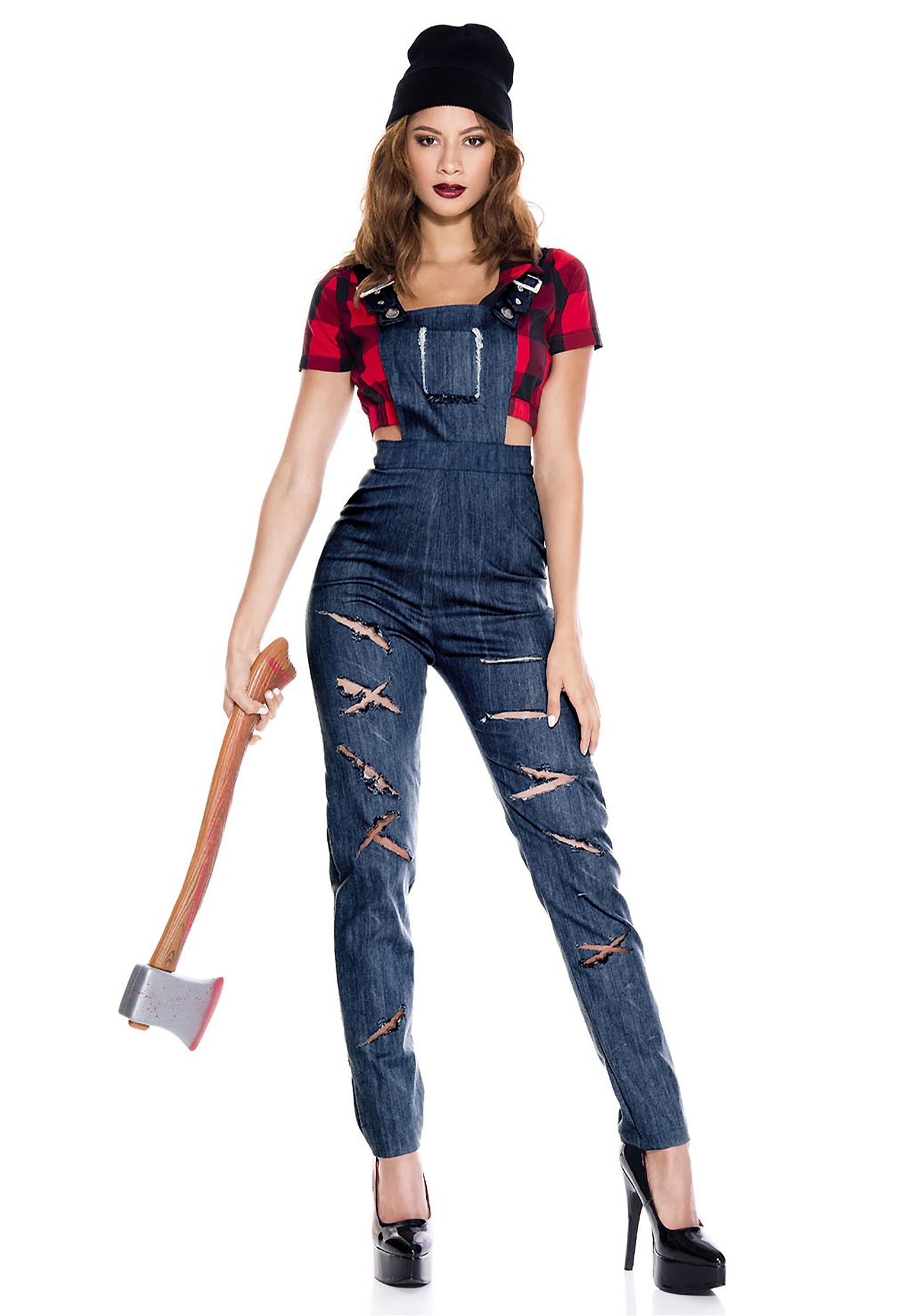 women s lady lumberjack costume