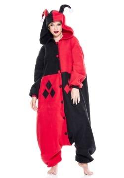 Harley Jester Pajama Costume