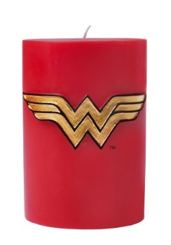 Wonder Woman DC Comics Insignia Candle