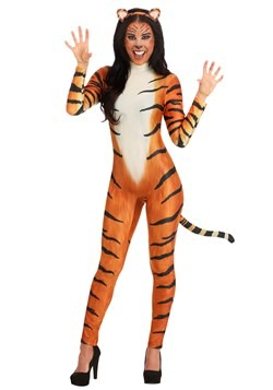 Women's Bold Tiger Costume